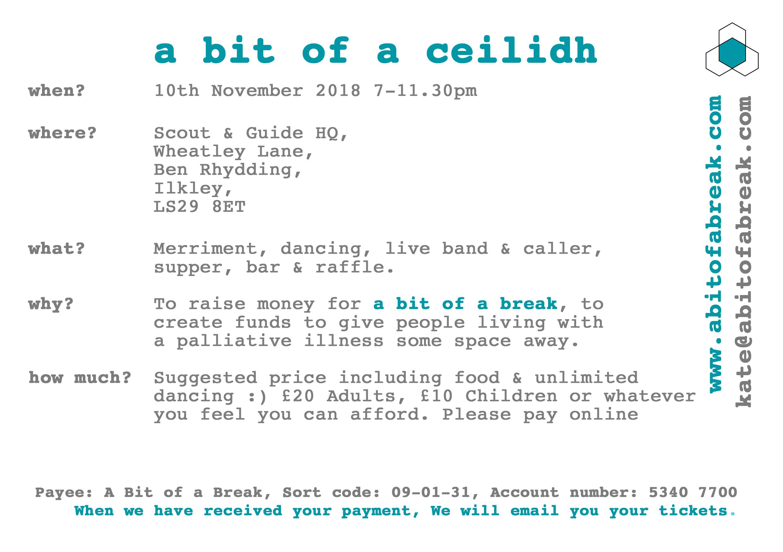ceilidh flyer